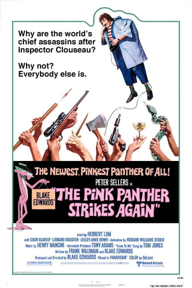 The Pink Panther Strikes Again