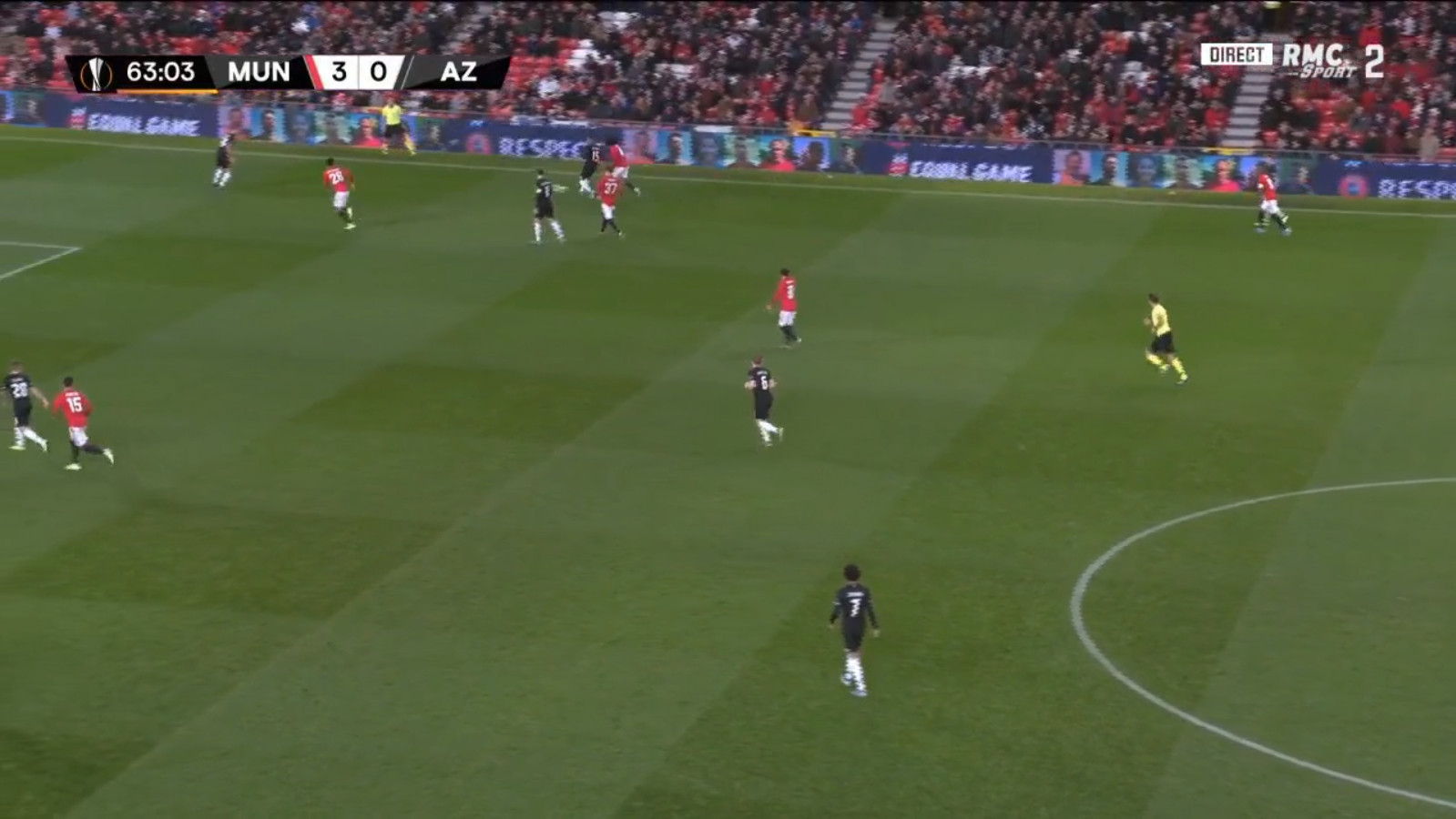 Manchester United - AZ 4-0 door Mason Greenwood