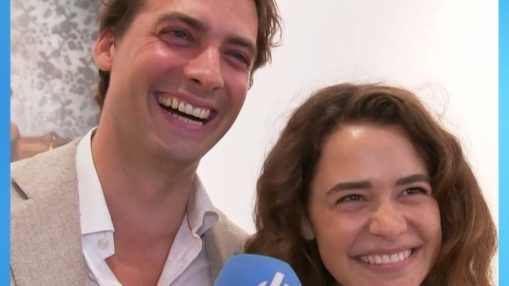 Thierry Baudet bloost na compliment vriendin